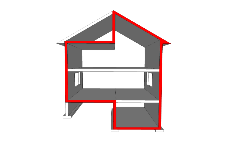 What is a building envelope solid steel buildings for Building onto a house